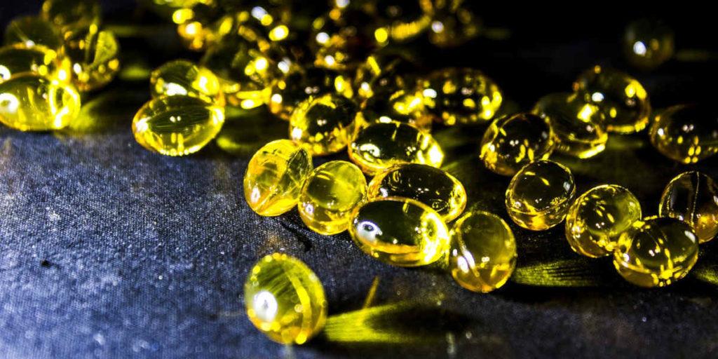 żelowe kapsułki omega 3 olej rybny