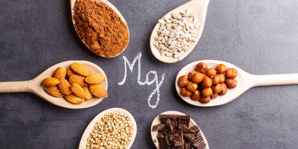 różne źródła magnezu