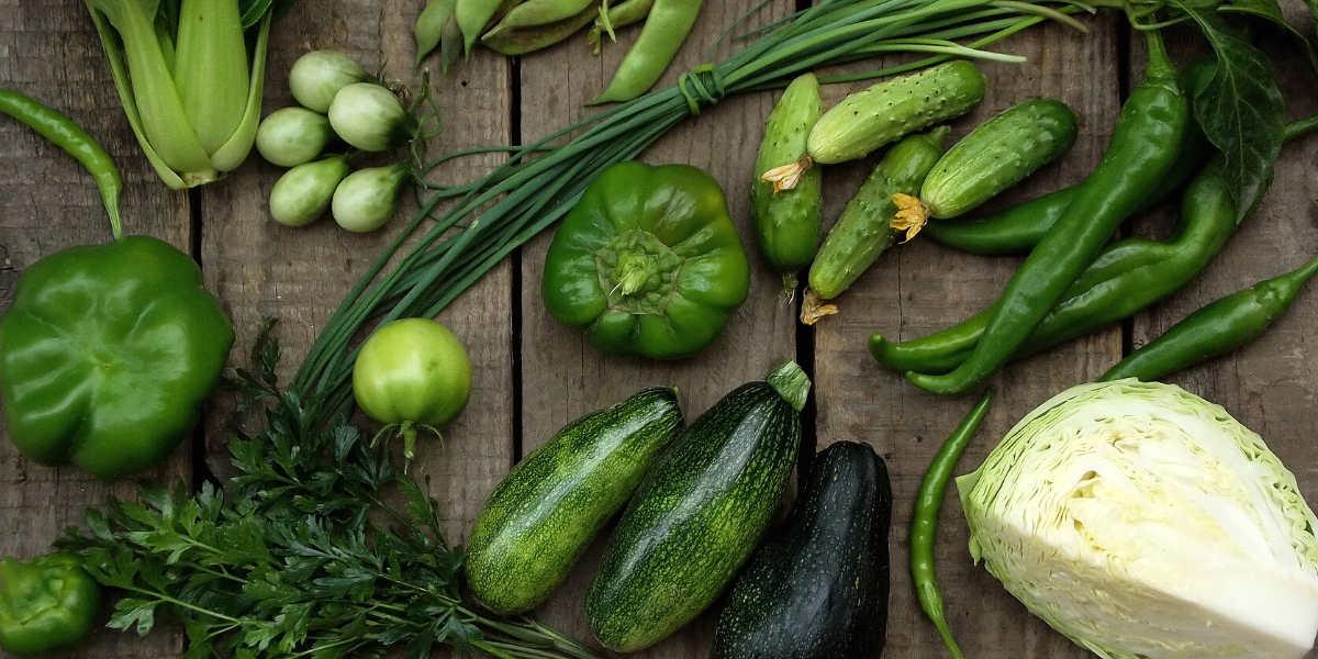 warzywa liściaste są głównym źródłem węglowodanów w keto diecie